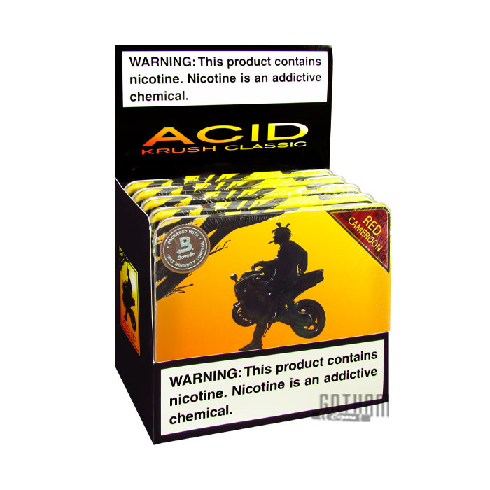 Gotham Cigars coupon: Acid Krush Red Cameroon Tin
