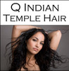 Q Indian Temple Hair