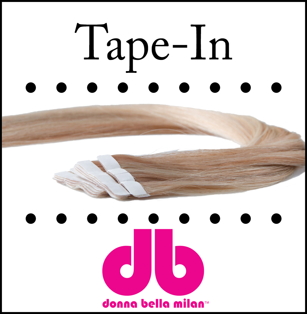 Donna Bella Tape-in Hair Extensions