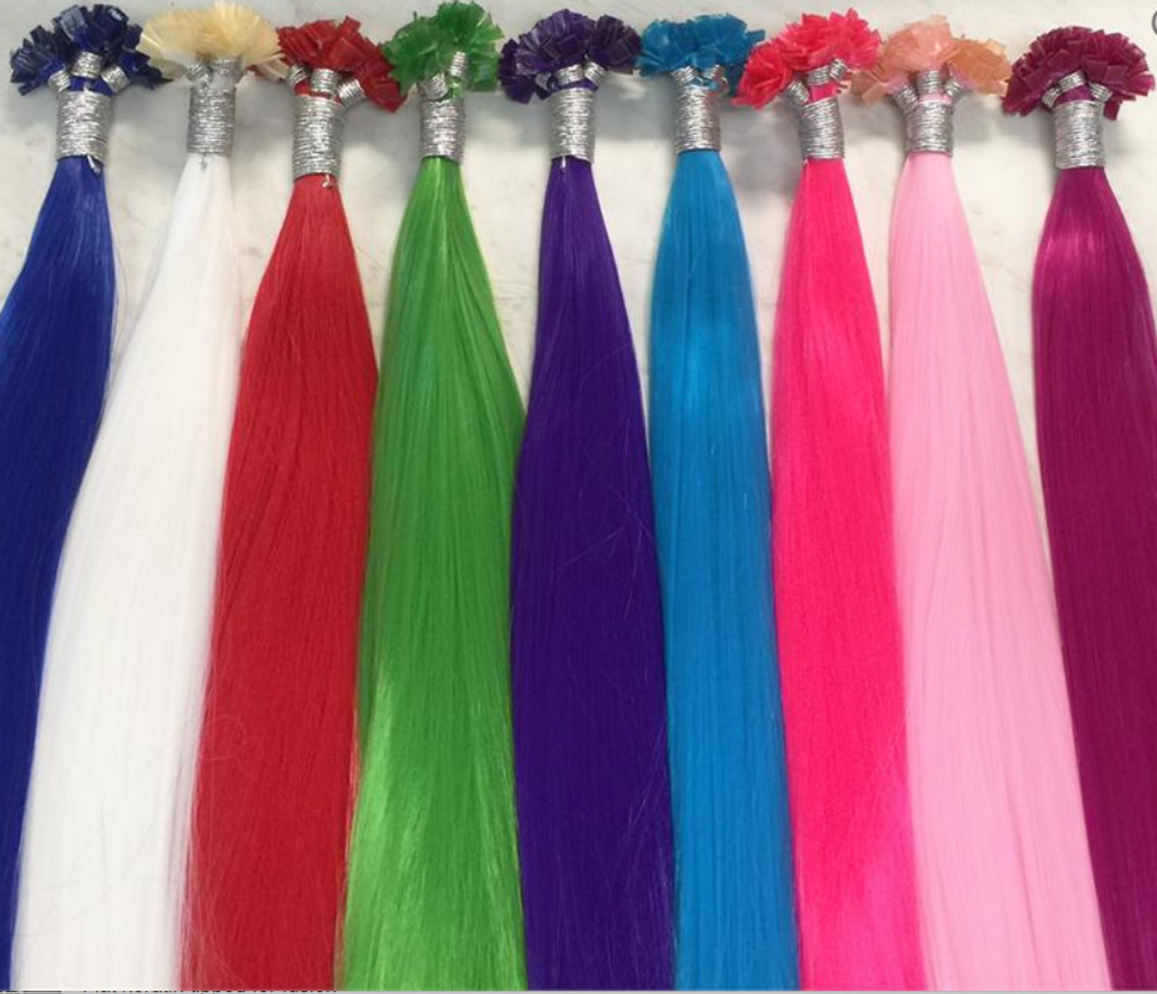 Party Colored Highlights