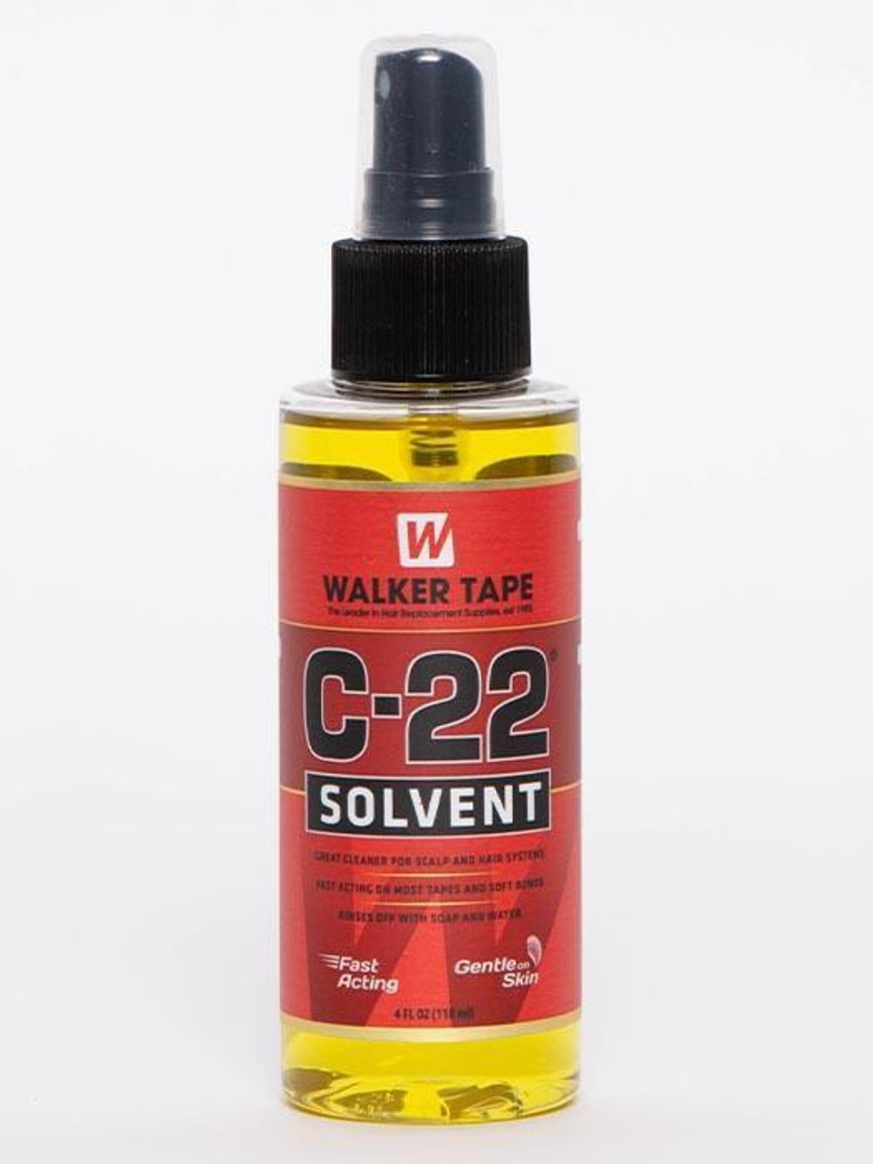 C-22 solvent for hair extension removal