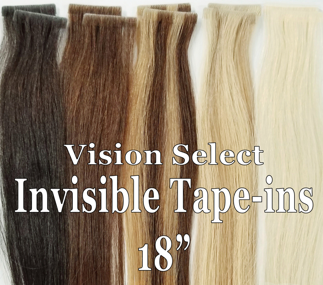 Vision Select Invisible Tape-ins