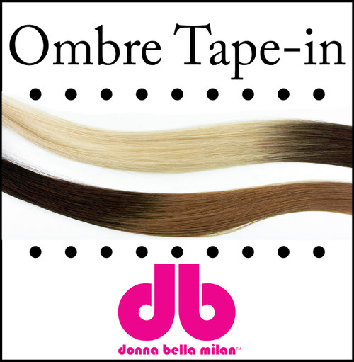 Donna Bella Ombre Tape-in Hair Extensions 18""