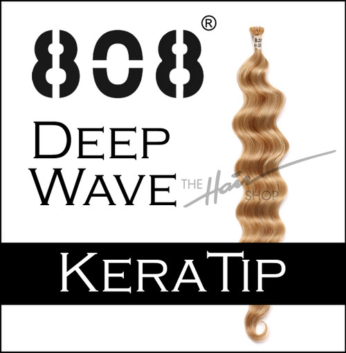 808 Keratin Deep Wave Hair Extensions