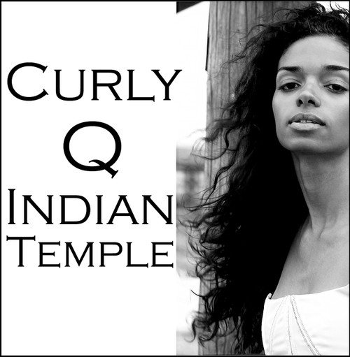 Curly Indian Temple Hair