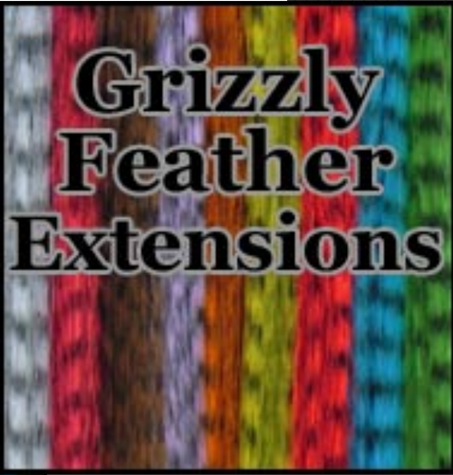 Grizzly Synthetic Feather Extensions