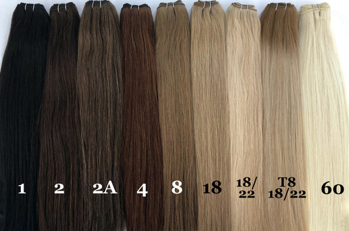 """Vision Select Machine Wefts 18"""" - 100g"""