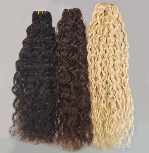 Curly Q Machine Wefts