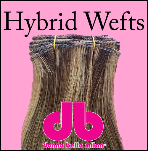 Donna Bella Hybrid Wefts for beaded row application