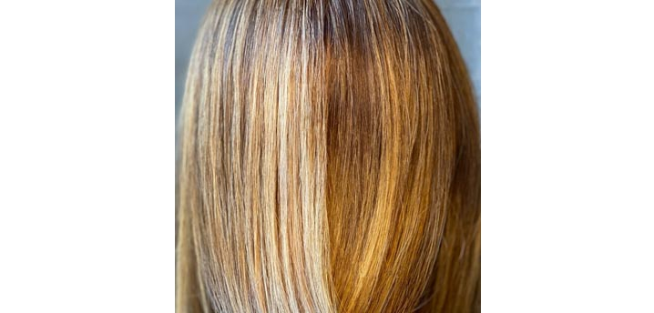 How to fix and avoid fading in human hair extensions