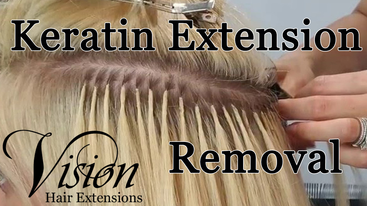 How to Remove Keratin or Fusion Hair Extensions