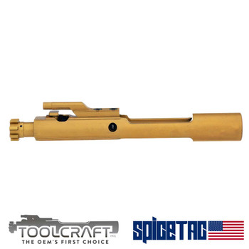 SpiceTac Voted #1 Toolcraft Dealer 2019 Titanium Nitride BCG