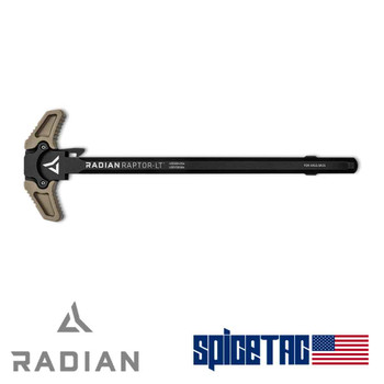 Radian Raptor-LT AR10 Charging Handle FDE For Sale