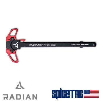 Raptor Charging Handle Competition Red