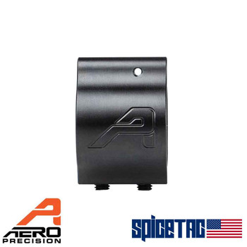 Aero Precision .936 Lo Profile Gas Block Nitride with Aero Logo