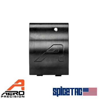 Aero Precision .750 Lo Profile Gas Block Nitride with Aero Logo For Sale