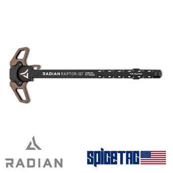 Radian Raptor SD Charging Handle Radian Brown For Sale