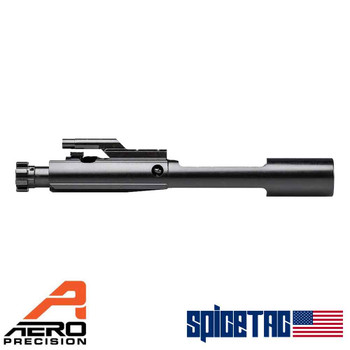 Aero Precision No Logo BCG Black Nitride 556 Left Side