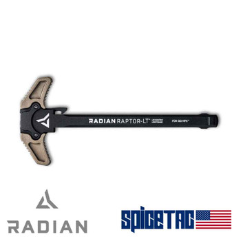 Radian Raptor LT Sig Sauer MPX Charging Handle FDE
