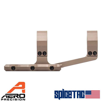 "Aero Precision Ultralight 1"" SPR FDE Cerakote Scope Mount For Sale"