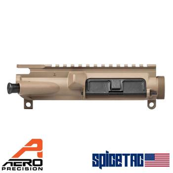 Aero Precision AR15 XL Upper Receiver - Assembled, FDE