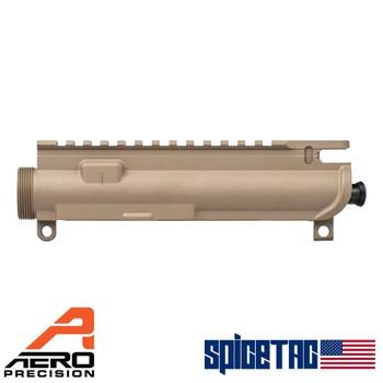 Aero Precision AR15 XL Assembled Upper Receiver - FDE For Sale