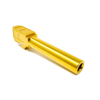 ALPHA G19 9MM Match Grade Barrel - TiN Gold