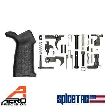 Aero Precision M4E1 MOE Lower Parts Kit Black