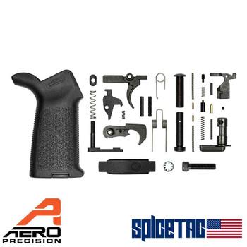 Aero Precision AR15 MOE Lower Parts Kit Black