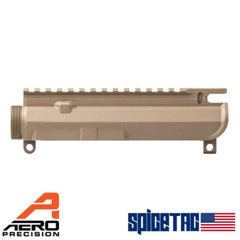 Aero Precision M4E1 Slick AR15 Upper Receiver FDE Cerakote For Sale