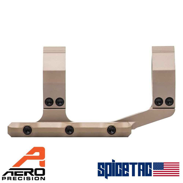 Aero Precision Ultralight 30mm Scope Mount, Extended - FDE