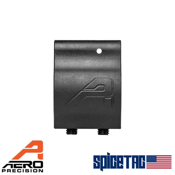Aero Precision .750 Lo Profile Gas Block Phosphate with Aero Logo For Sale
