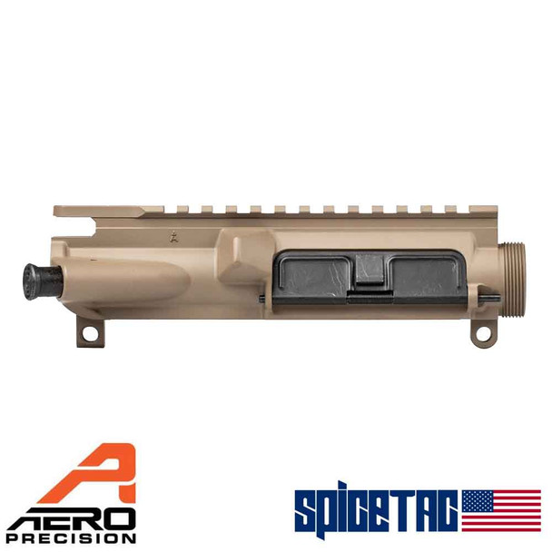 Aero Precision AR15 XL Upper Receiver - Assembled, FDE