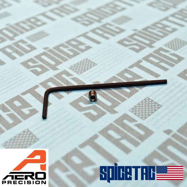 Aero Precision M4E1 Lower Receiver 4-40 Set Screw and Wrench