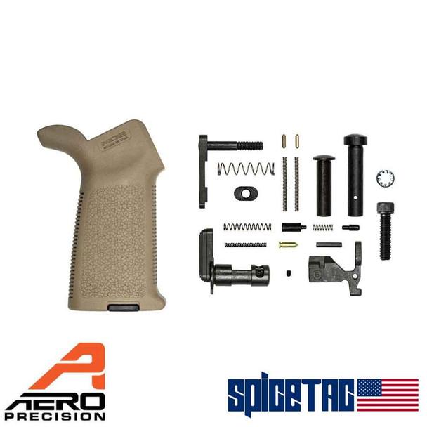 Aero Precision M4E1 MOE Lower Parts Kit Minus FCG FDE