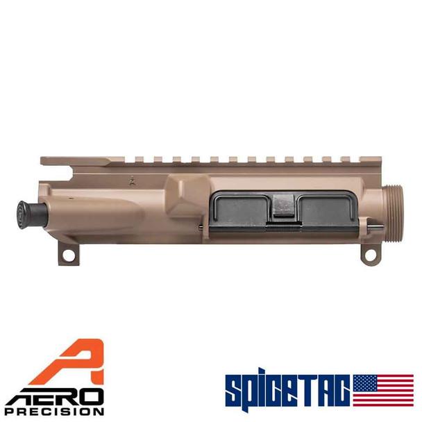 Aero Precision Assembled Upper Receiver AR15 FDE Cerakote For Sale APAR501801AC