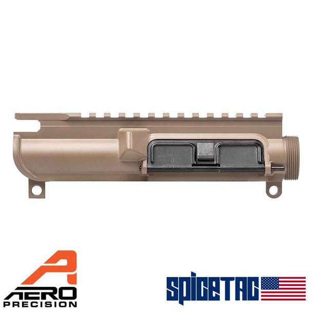 Aero Precision Slick Side Upper Receiver - Assembled, FDE For Sale