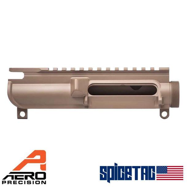 Aero Precision Slick Side Upper Receiver No Forward Assist Stripped FDE For Sale