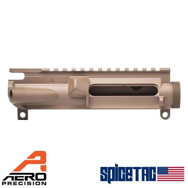 Aero Precision AR15 Stripped Upper Receiver FDE For Sale