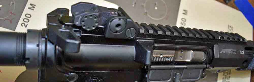 Raptor Charging Handle Paired With Slick Side Upper For Easy Charging