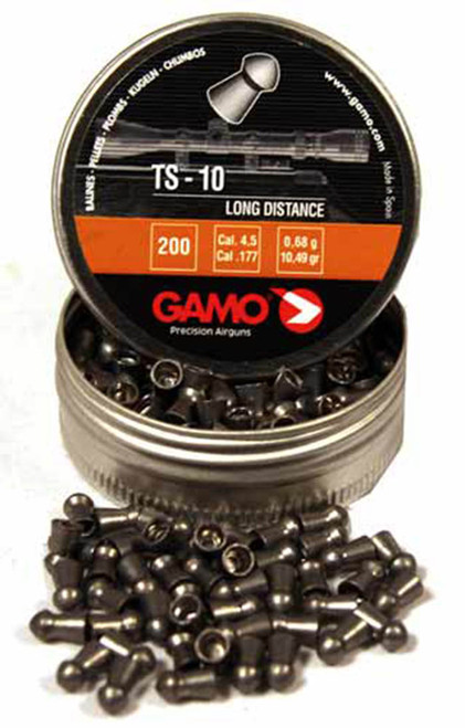 Gamo TS-10 Long Range Pellets 177 Tin 200