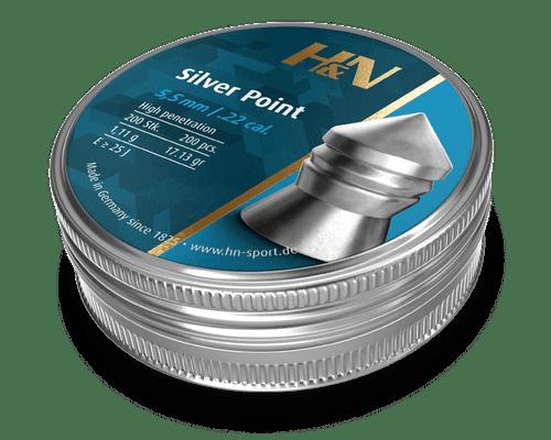 HN Silver Point 22 5,5mm 17.13gr 200 Tin