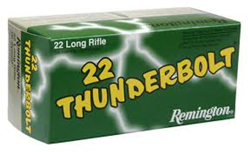 Remington .22LR Thunderbolt HV 40gr Solid 50pk