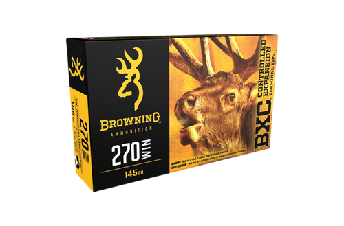 Browning BXC 270Win 145gr CETT