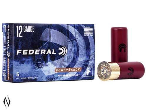 Federal 12G 00/SG Buck 9pellet