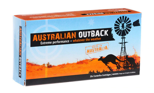 Australian Outback 308Win 168gr Sierra Match King