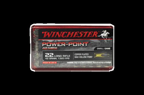 Winchester PowerPoint 22lr 42gr max 50pk
