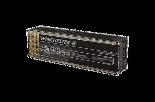 Winchester Super Supressed 22LR 45gr LRN