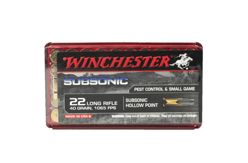 Winchester Subsonic 22LR 40gr