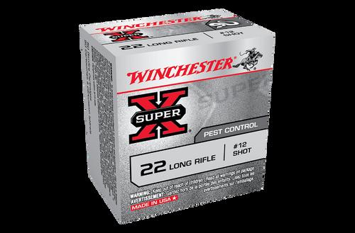Winchester SuperX Rat Shot 22LR 12 Shot